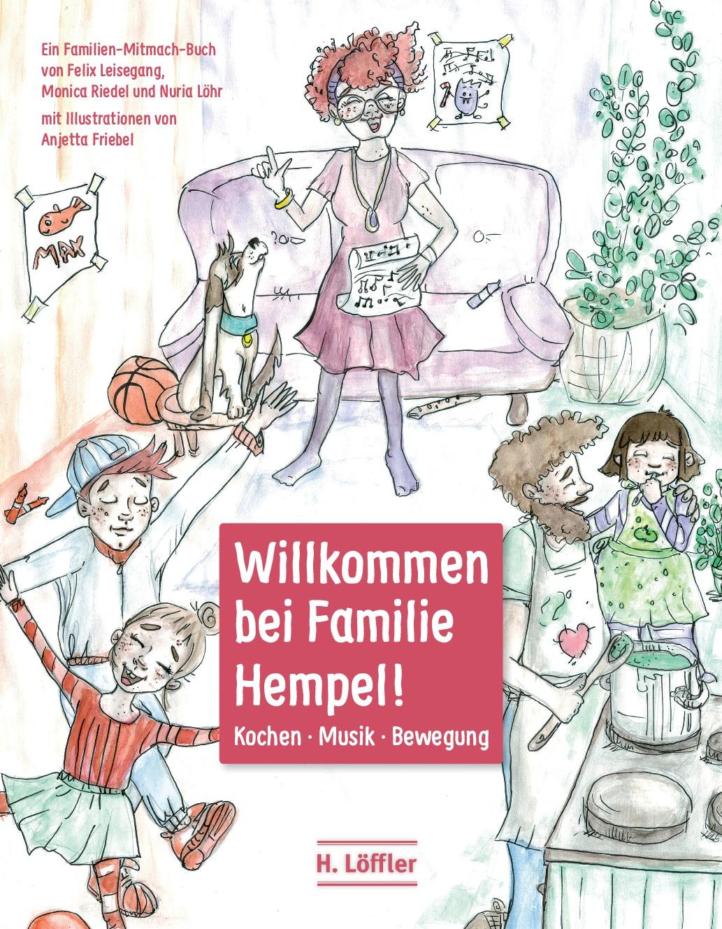Willkommen bei Familie Hempel Titelseite